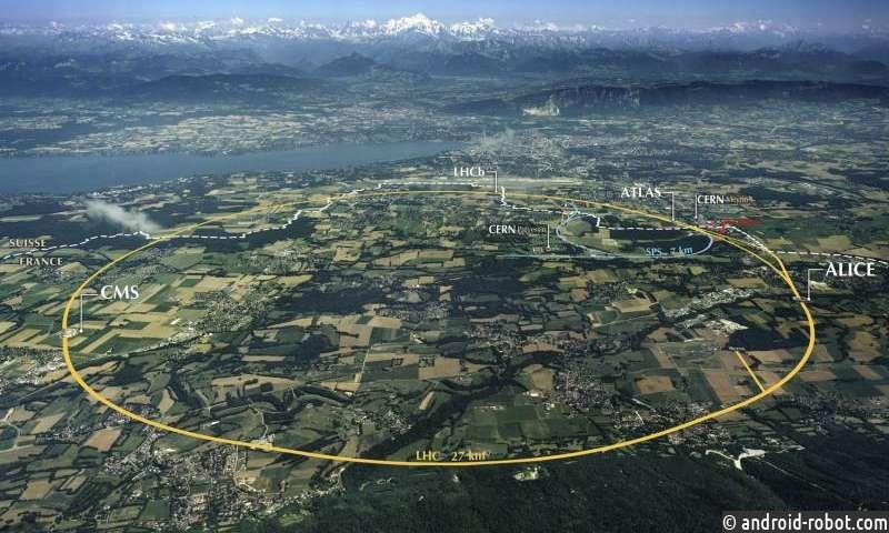 ЦЕРН лаборатория на охоте на темную материю