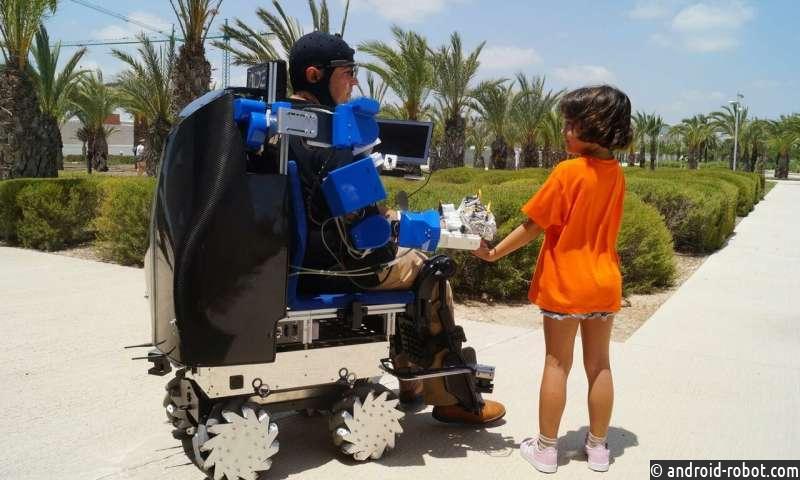 Роботизированные руки и временная моторизация - следующее поколение инвалидных колясок