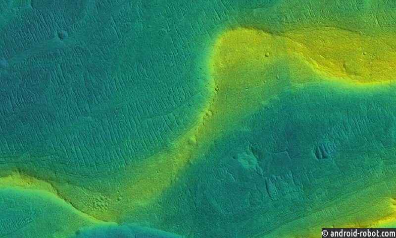 Когда-то на Марсе было много рек