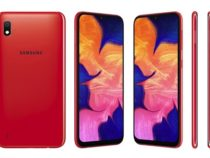Samsung представила общедоступный Galaxy A10 c экраном Infinity-V