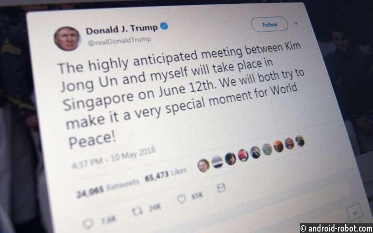 Twitter может пометить нарушающие правила твиты Трампа