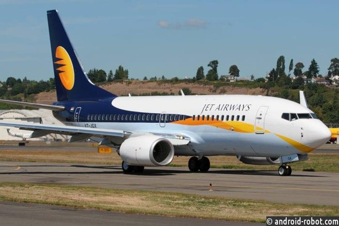 Более 1 000 пилотов Jet Airways прекратят полеты с 1 апреля