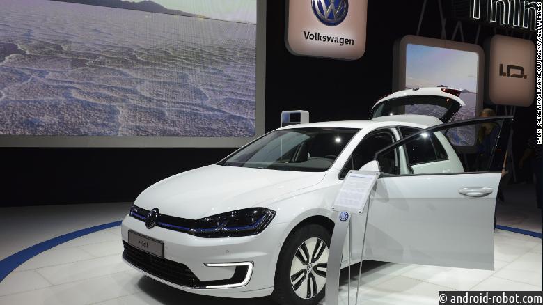 Volkswagen делает ставку на будущее электромобилей