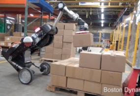 Boston Dynamics показала робота-грузчика (Видео)