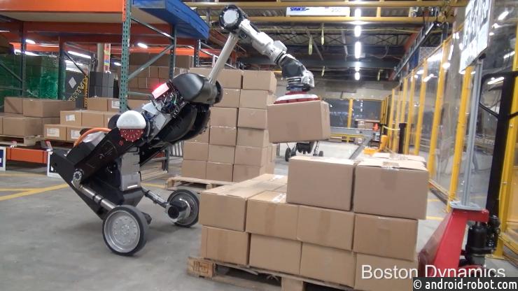 Boston Dynamics показала робота-грузчика