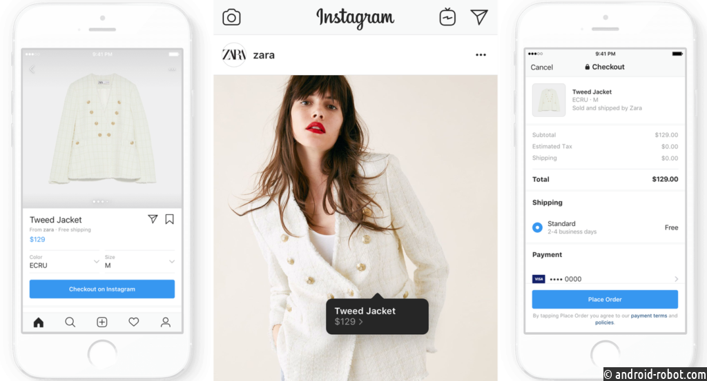 Instagram запускает проверку покупок, взимая с продавцов комиссию