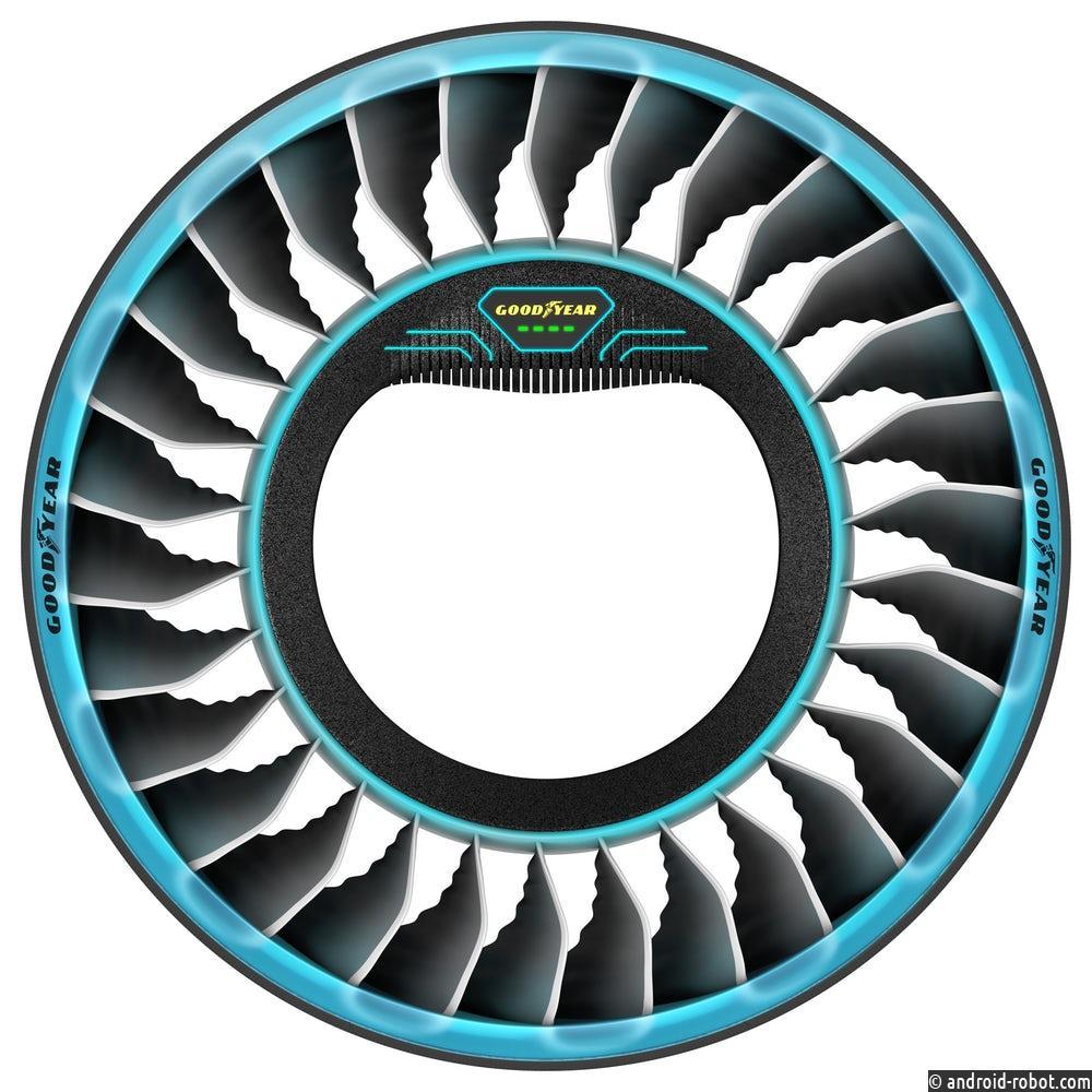 Goodyear летит в Женеву с концепцией шин Aero Tiltrotor