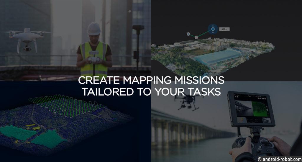DJI представлила DJI Terra для визуализации и анализа данных с помощью дрона
