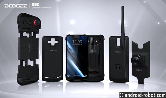 Многофункциональный уникальный модуль-смартфон DOOGEE S90 теперь стал доступен россиянам