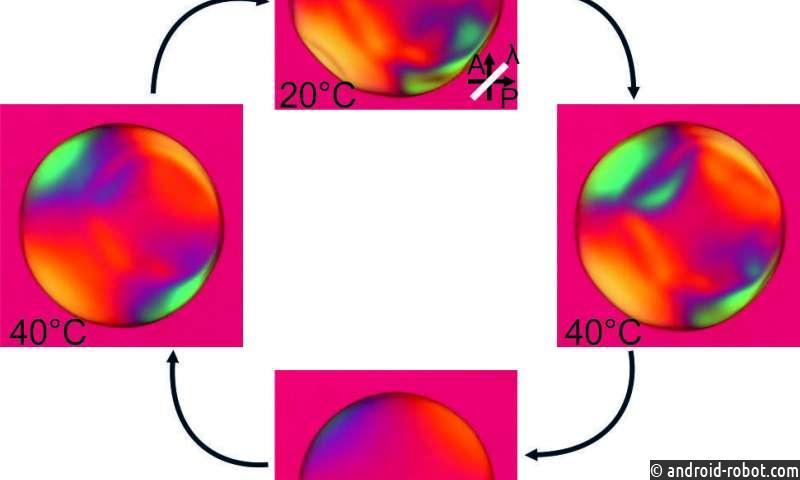 Новый метод инвертирует самосборку жидких кристаллов