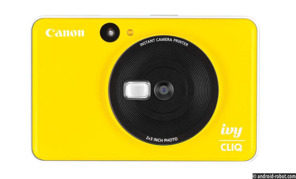 Canon совместно с Fuji с новыми камерами CLIQ с мгновенной печатью