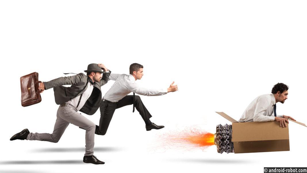 Конкуренция между роботом и человеком