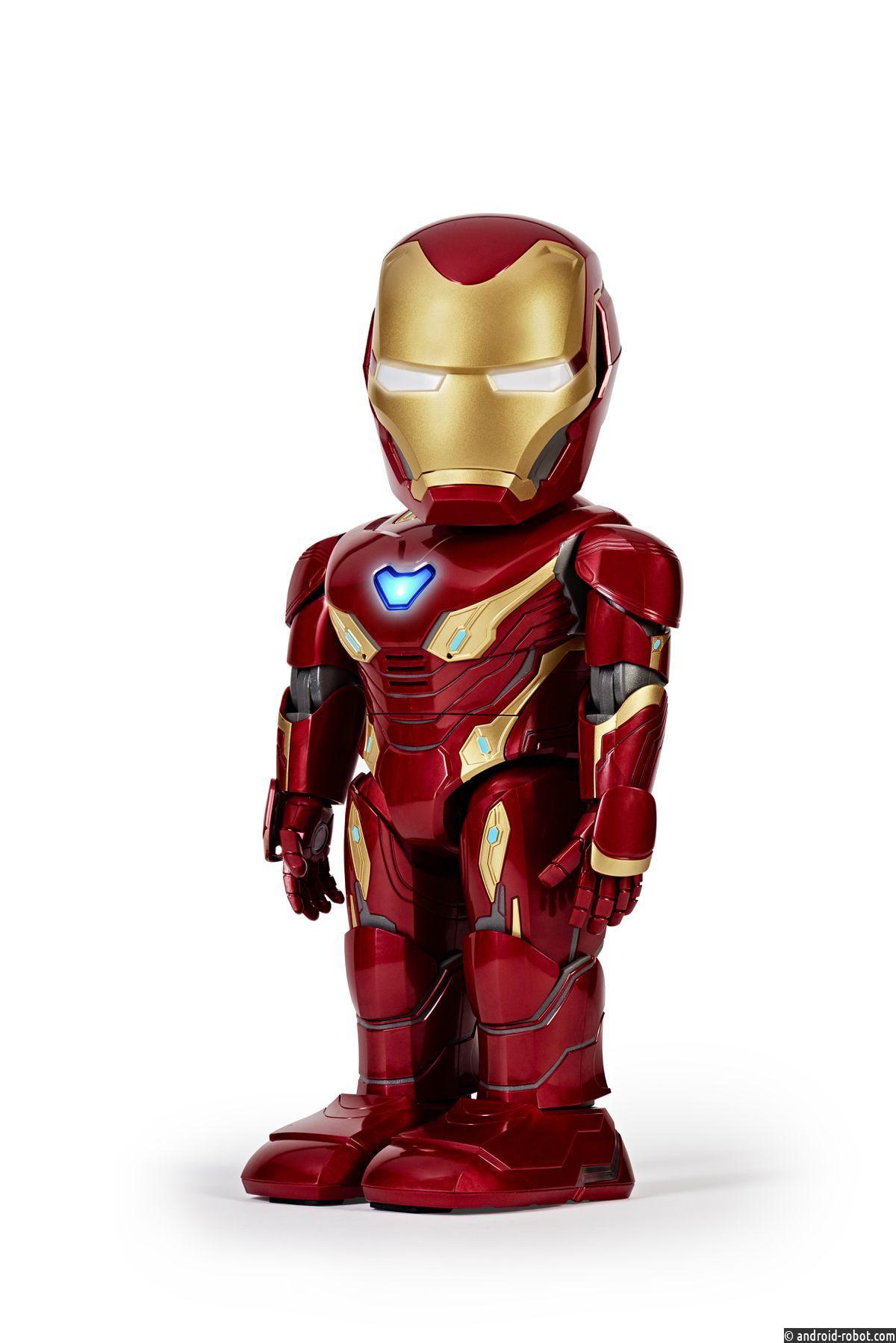 Создан робот Iron Man, патрулирующий нашу комнату