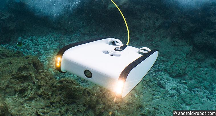Подводные дроны исследуют дно океана