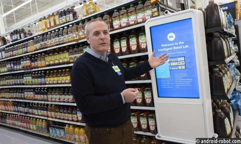Walmart экспериментирует с ИИ для мониторинга магазинов в реальном времени