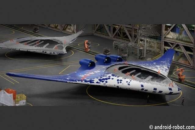 Инженеры MIT и NASA демонстрируют новый вид крыла самолета