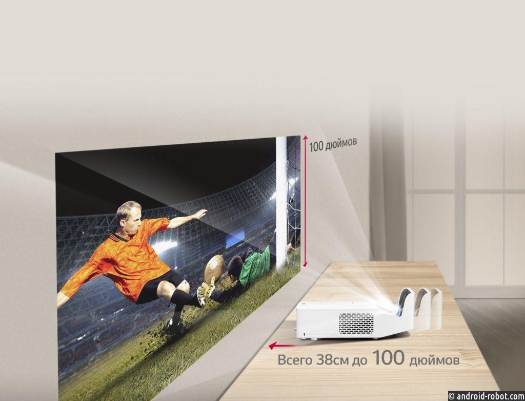 Светодиодные проекторы LG CineBeam HF60LSR и HF65LSR представлены в России