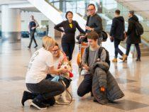 Собаки помогут снять стресс пассажирам, вылетающим из Домодедово на майские праздники