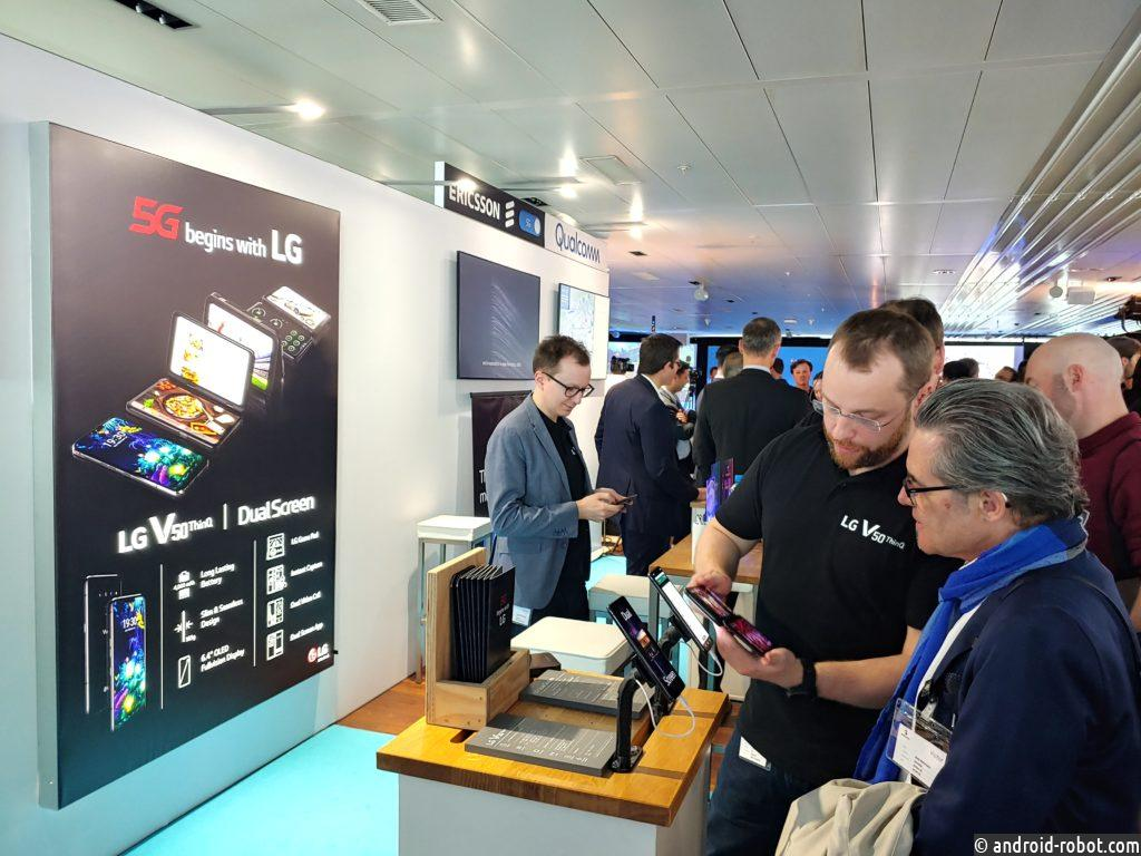 Компании LG и Swisscom запустят 5G в Европе