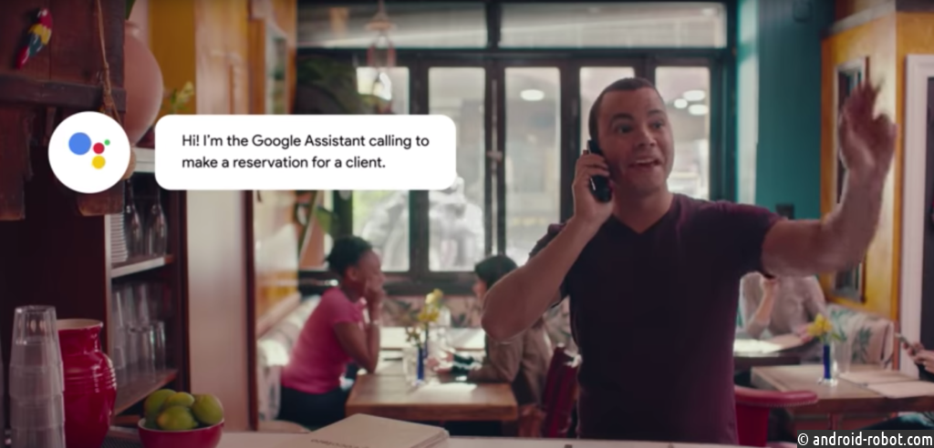 Функция Google Assistant для бронирования мест в ресторанах по телефону начала работать на Android и iOS