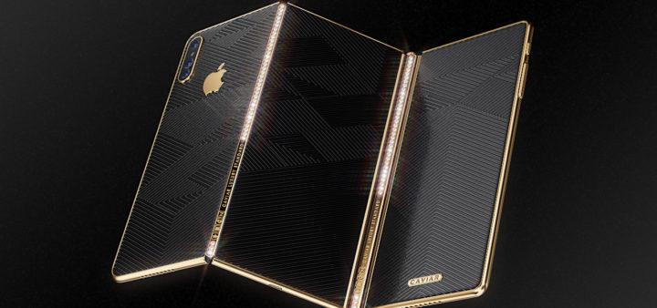В России показали свой концепт нового смартфона — Гибкий iPhone Z