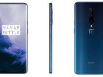 Высококачественное изображение телефона OnePlus 7 Pro демонстрирует его совсех сторон