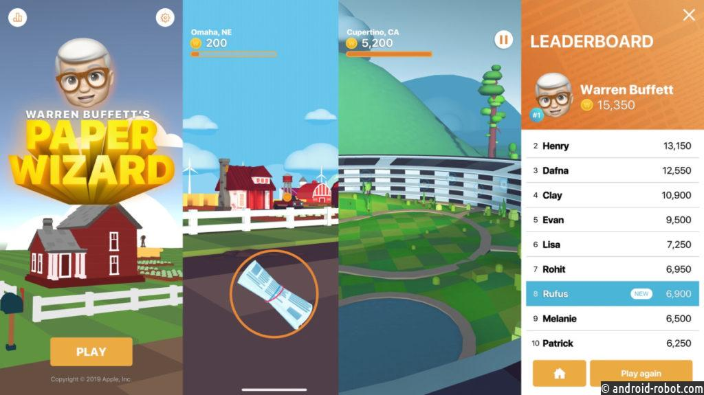 Apple выпустила первую за10 лет игру для iPhone