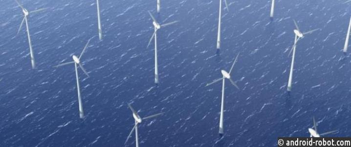 Китай создает проекты строительства ветровой электростанции