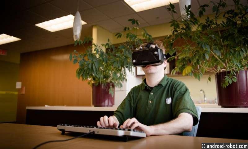 Физические клавиатуры облегчают набор текста в виртуальной реальности