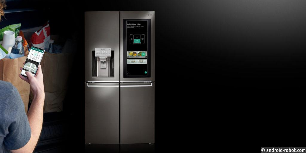 Холодильник LG InstaView ThinQ