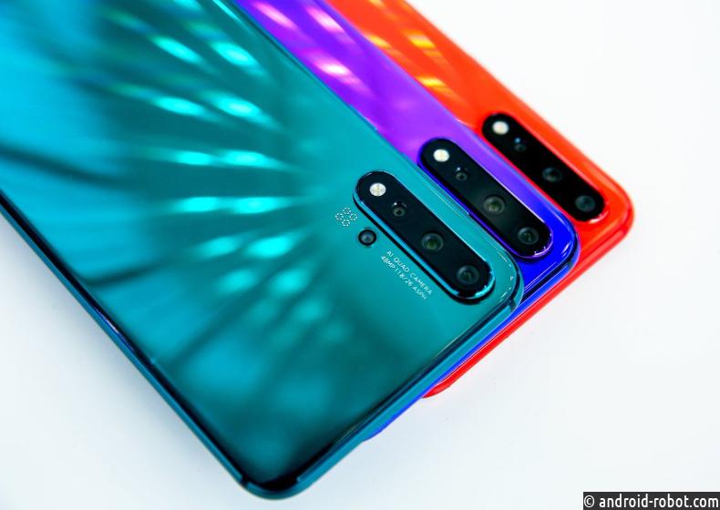 Представлены мобильные телефоны Huawei Nova 5, Nova 5 Pro иNova 5i