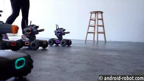 DJI начинает обучение робототехнике с RoboMaster S1