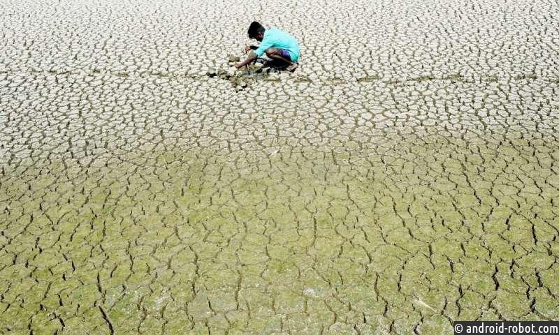 Индия страдает от жары