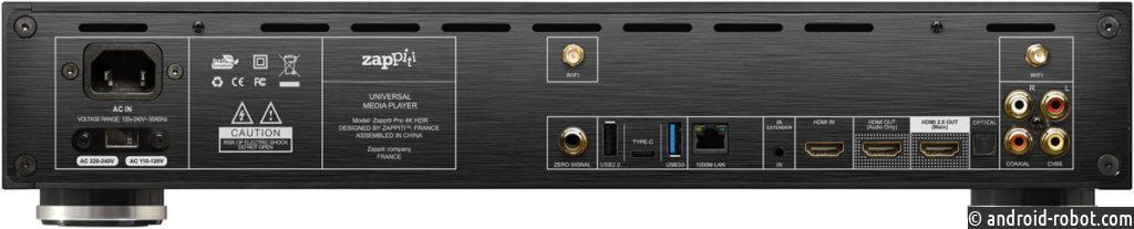 Представлена флагманская модель медиапроигрывателя Zappiti Pro 4K HDR