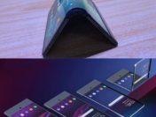 Sony работает над телефоном соскручиваемым дисплеем