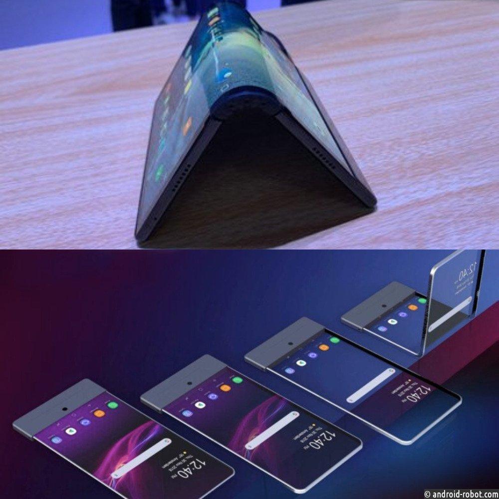 Sony разрабатывает собственный смартфон сгибким дисплеем