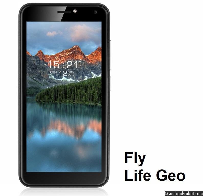 Fly Life Geo – смартфон с новостным контентом на экране блокировки