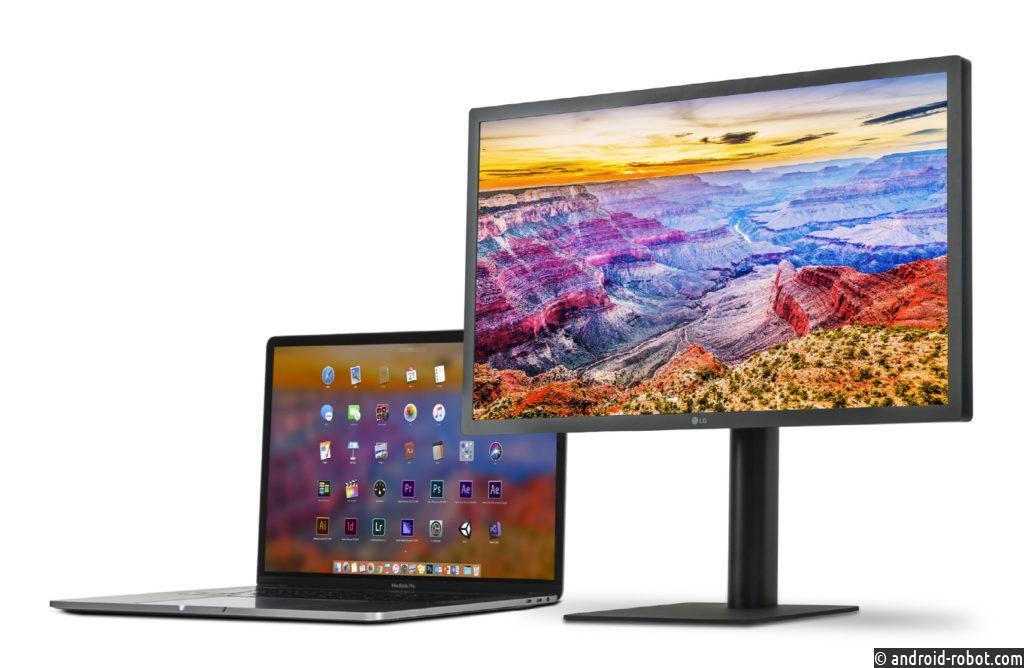 LG представила новый 27-дюймовый дисплей с разрешением 5K (модель 27MD5KL)