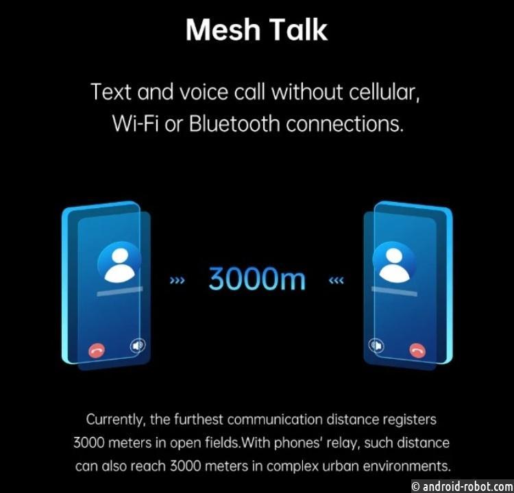 Новая технология OPPO даст возможность общаться без сотовых сетей, Wi-Fi либо Bluetooth