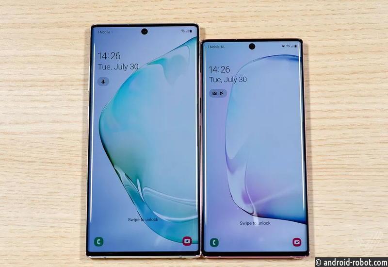 Samsung представила два новых телефона