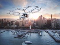 Компания Volocopter представила городское аэротакси