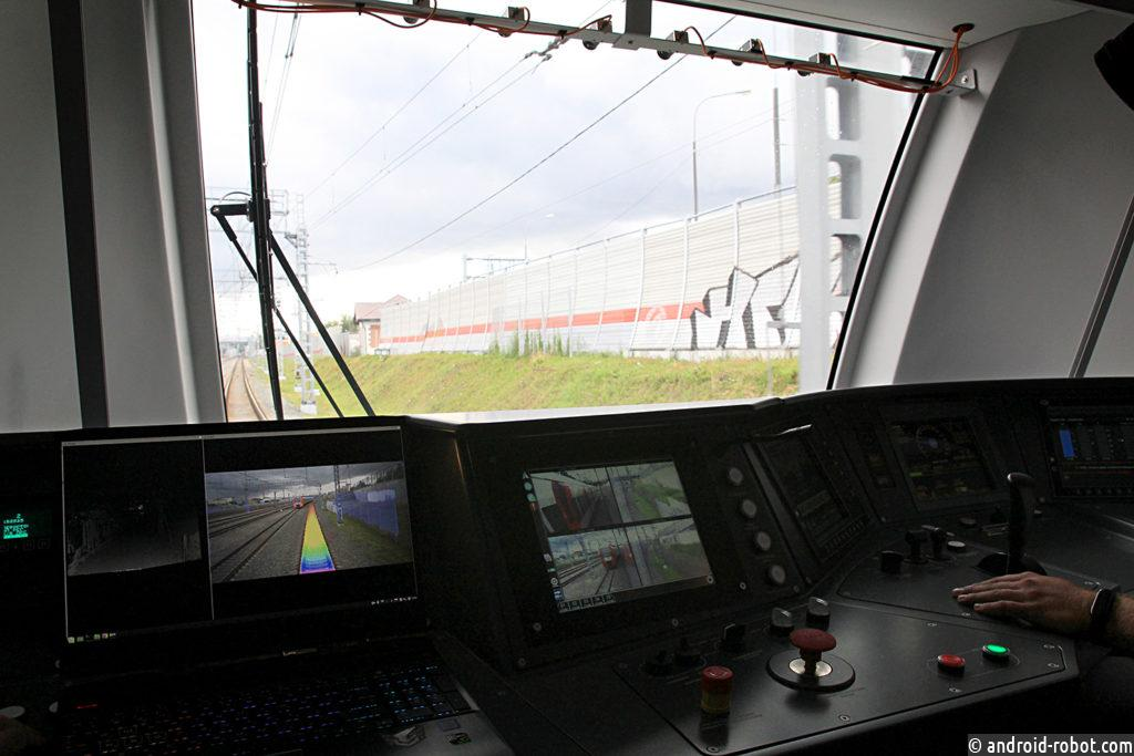 Демонстрация беспилотного поезда успешно реализована на выставке «PRO//Движение. Экспо-2019»