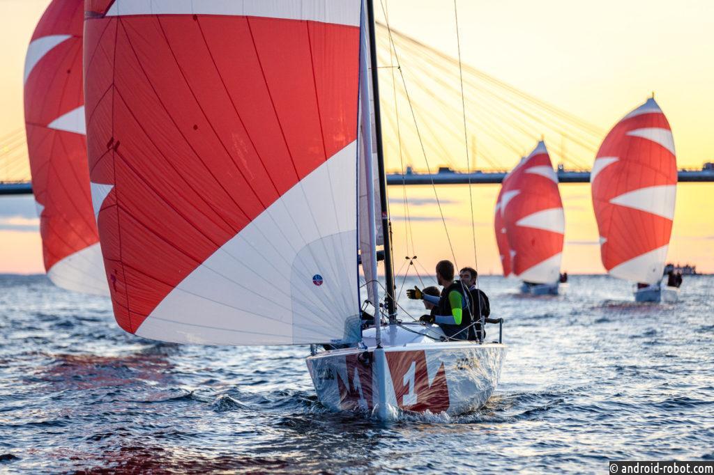 Соревнования представителей прессы на яхтах пройдут в акватории Невской губы