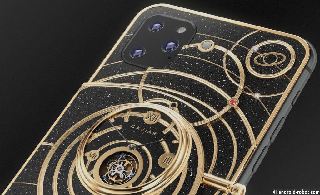 В России создали прототип iPhone 11 — с частицами Луны, космического корабля и бриллиантами