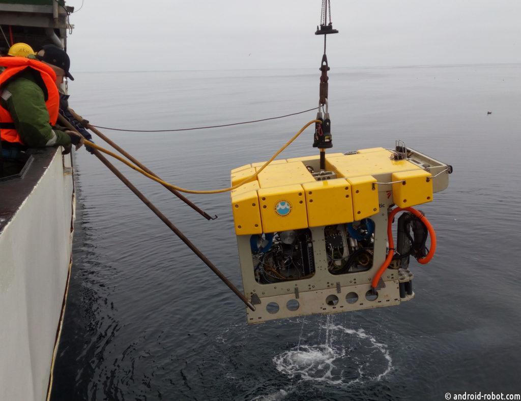Скоро будет представлен автономный подводный робот с манипулятором