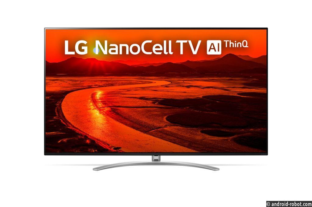 LG представляет на российском рынке телевизор NanoCell 8K с интелектуальееым процессором второго поколения α9