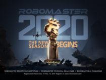 Открыт для регистрации шестой ежегодный конкурс RoboMaster 2020