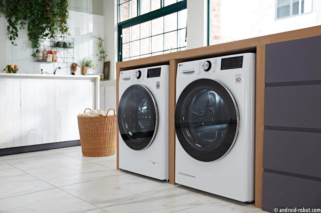 LG представила интеллектуальные стиральные машины