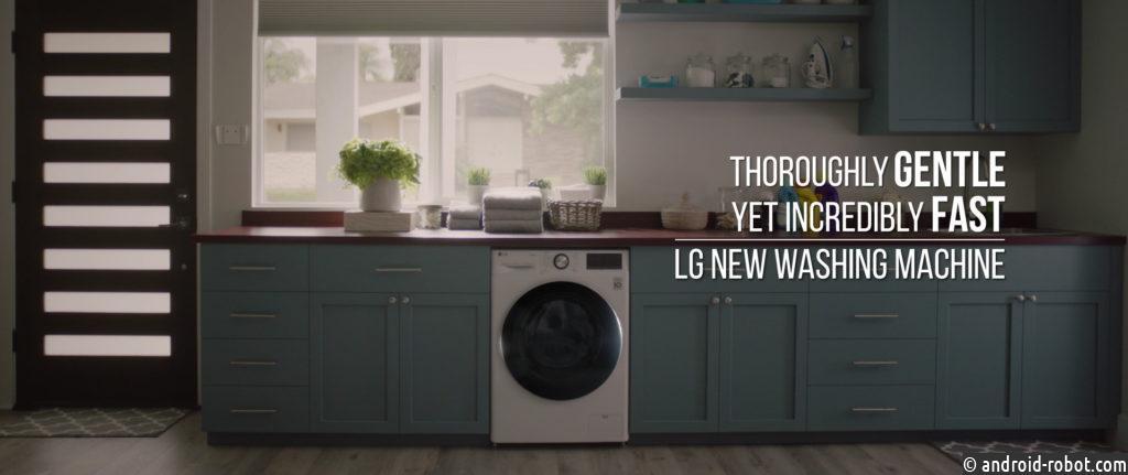 LG запустила рекламную кампанию с видеороликами, демонстрирующими интеллектуальные стиральные машины