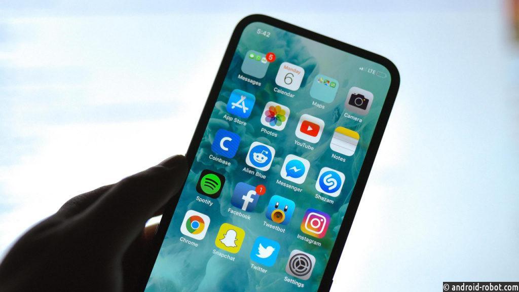 Apple показала новую модель iPhone без выреза вэкране?